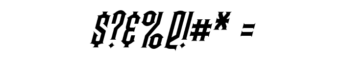 Steamwreck Italic Font OTHER CHARS