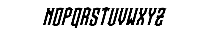 Steamwreck Italic Font LOWERCASE