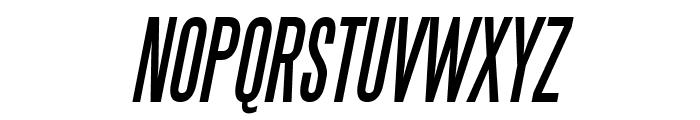 SteelTongs Italic Font UPPERCASE