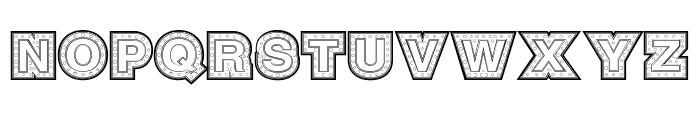 SteelTown Font UPPERCASE