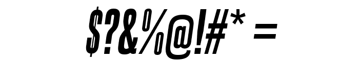 SteelfishEb-Italic Font OTHER CHARS