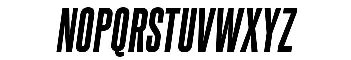 SteelfishEb-Italic Font UPPERCASE