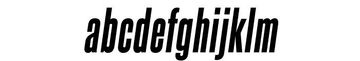 SteelfishEb-Italic Font LOWERCASE