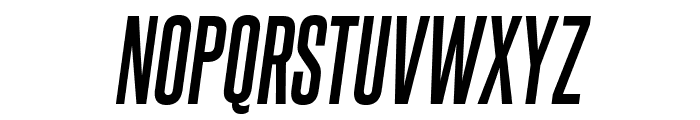 SteelfishRg-BoldItalic Font UPPERCASE