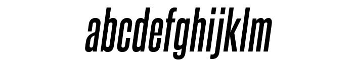 SteelfishRg-BoldItalic Font LOWERCASE