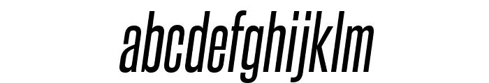 SteelfishRg-Italic Font LOWERCASE