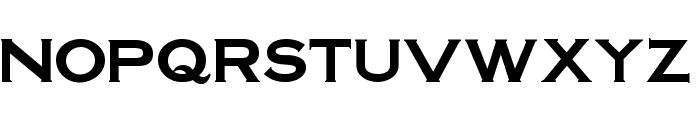 SteelplateGothicBold normal Font UPPERCASE