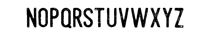 Steelworks Vintage Demo Font LOWERCASE