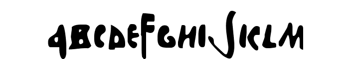Stefanit Font LOWERCASE