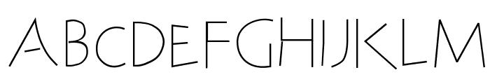 SteinAntik-Light Font LOWERCASE