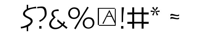 SteinAntik Font OTHER CHARS