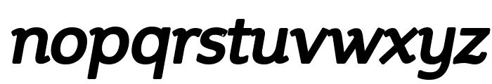 Steinem-Bold Italic Font LOWERCASE