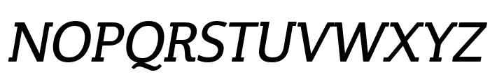 Steinem-Italic Font UPPERCASE