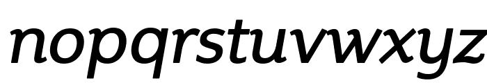 Steinem-Italic Font LOWERCASE