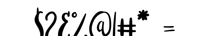 Stella Alpina Cutecaps Font OTHER CHARS