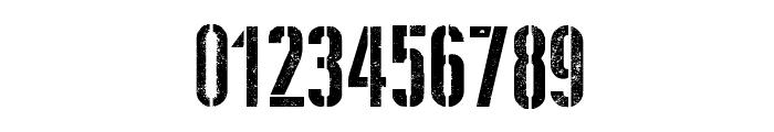 Stencil WW II Font OTHER CHARS