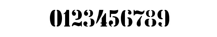 StencilIntellectaLimitedSet Font OTHER CHARS
