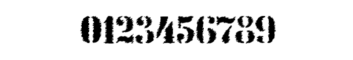 StencilIntellectaTrashFree Font OTHER CHARS