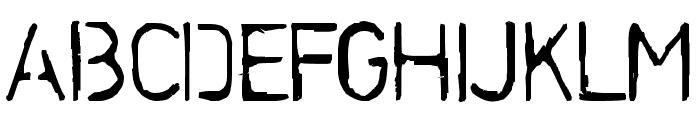 Stencilcase Bold Font UPPERCASE