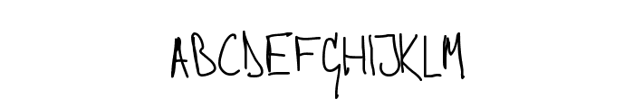 Stephen Normal Font LOWERCASE