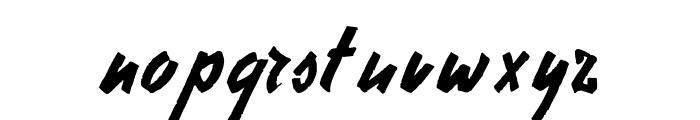 StephensHeavyWriting Font LOWERCASE