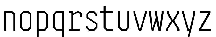 Steps Mono Font LOWERCASE