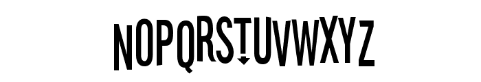Stereofidelic Font LOWERCASE