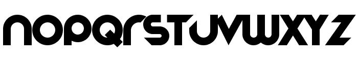 Stereofunk Font LOWERCASE