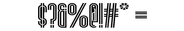 Stereovolna Font OTHER CHARS