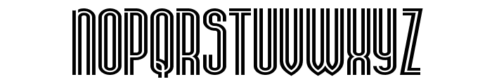 Stereovolna Font LOWERCASE