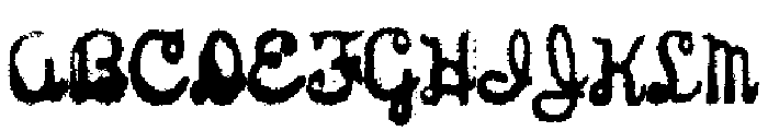 Sterling Keys Font UPPERCASE