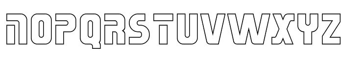 Sternbach Hollow Font UPPERCASE