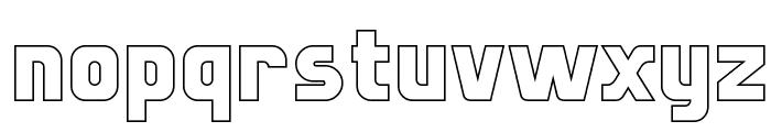 Sternbach Hollow Font LOWERCASE
