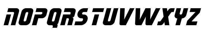 Sternbach Italic Font UPPERCASE