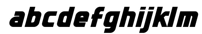 Sternbach Italic Font LOWERCASE