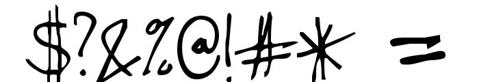 Stevekern Font OTHER CHARS