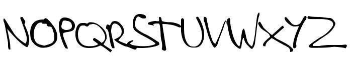 Stevekern Font UPPERCASE