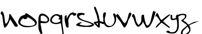 Stevekern Font LOWERCASE