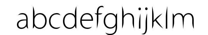 Stewart Sans Font LOWERCASE