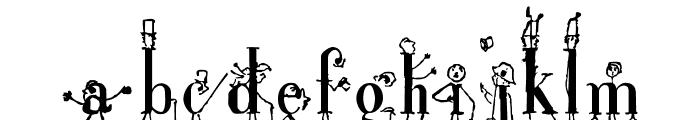 StickLetter Font UPPERCASE