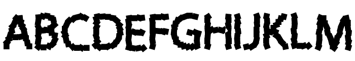 Sticky Notes Font UPPERCASE