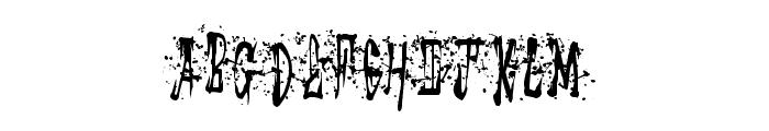 StickyMad Font UPPERCASE
