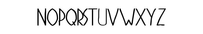 Stigmata Font LOWERCASE