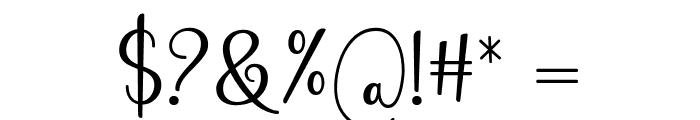 Still Loving Font OTHER CHARS