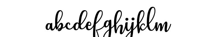 Still Loving Font LOWERCASE