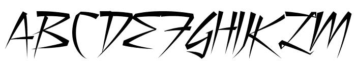 Still Time Font UPPERCASE