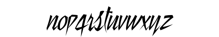 Still Time Font LOWERCASE
