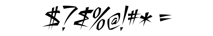 StillTime-Regular Font OTHER CHARS