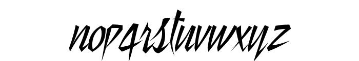 StillTime-Regular Font LOWERCASE
