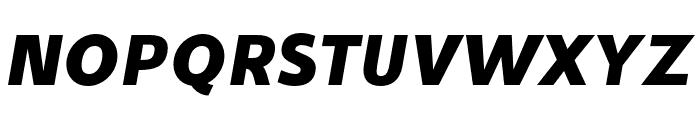 Stilu Bold Italic Font UPPERCASE